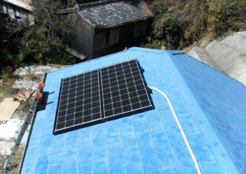 三重県三菱太陽光パネル 14枚PV-MA2250M施工後その他の写真3
