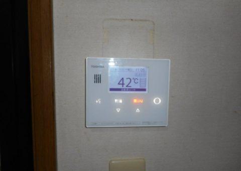 大阪府東芝エコキュートHWH-B374HA施工後その他の写真2