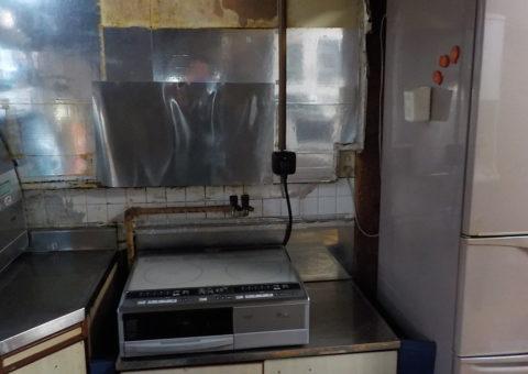 奈良県東芝エコキュートHWH-B375HA日立IHクッキングヒーターHT-330S施工後その他の写真4