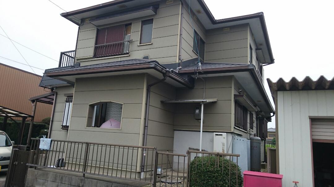 兵庫県外壁塗装施工前の写真