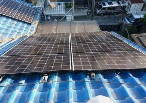 滋賀県三菱太陽光パネル 26枚PV-MA2250M施工後その他の写真2