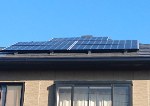 大阪府三菱太陽光パネル 19枚PV-MA2250M施工後その他の写真2