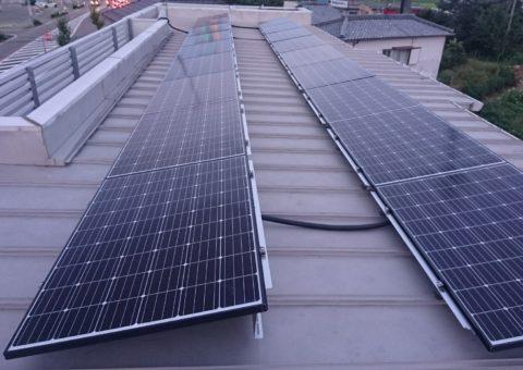 奈良県長州太陽光パネル 18枚CS-274B61施工後その他の写真2