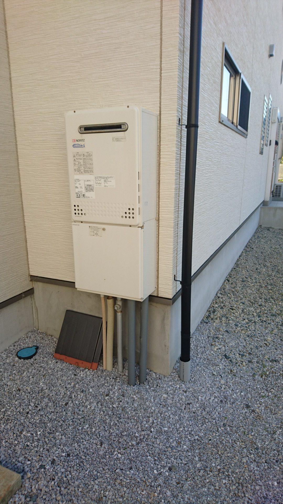奈良県東芝エコキュートHWH-B375HA施工前の写真