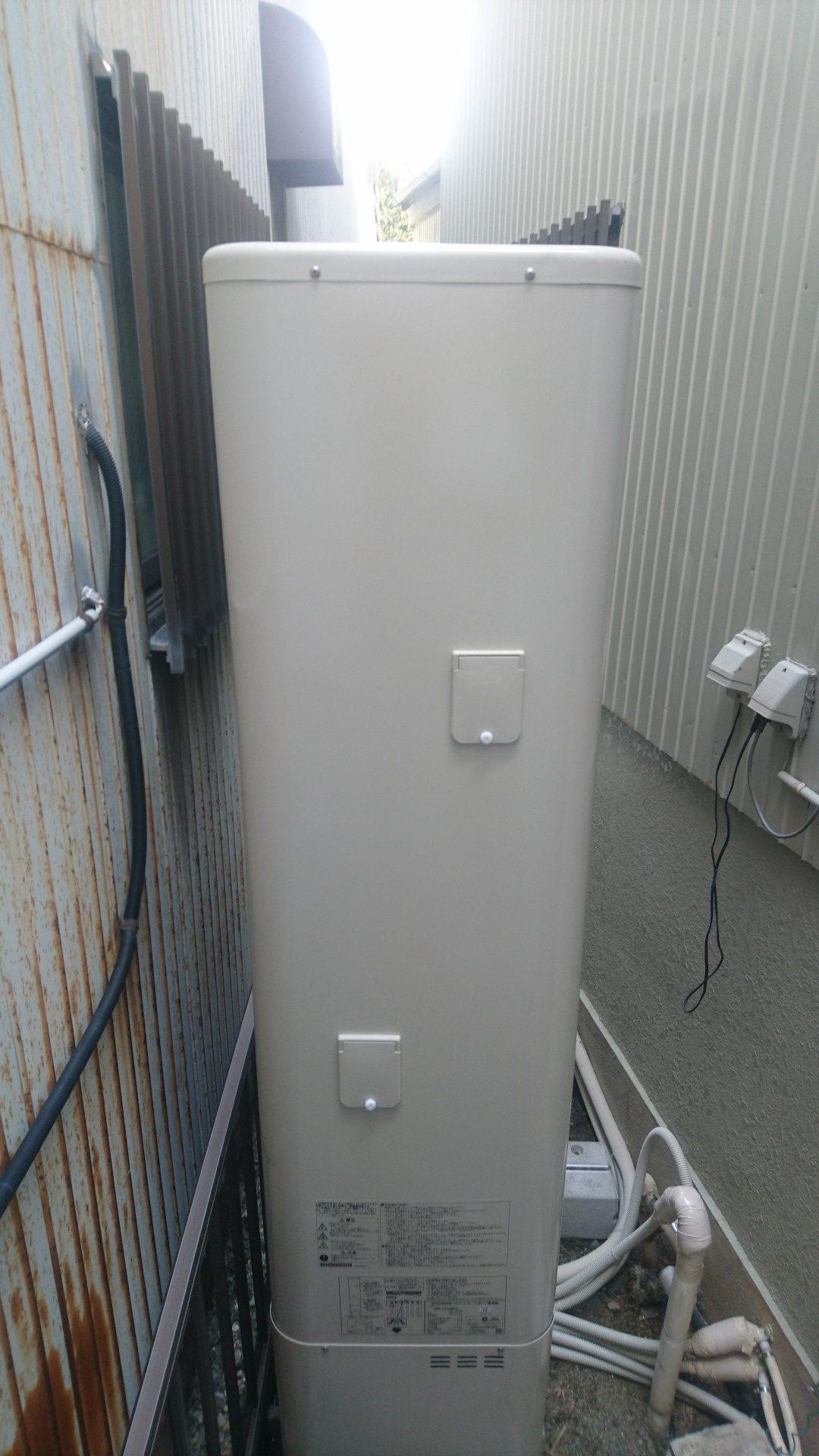 京都府東芝エコキュートHWH−B375HWV施工後の写真
