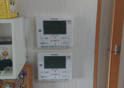 愛知県Panasonicエコキュート(床暖用)HE-D37FQS三菱IHクッキングヒーターCS-T316VSR施工後その他の写真3