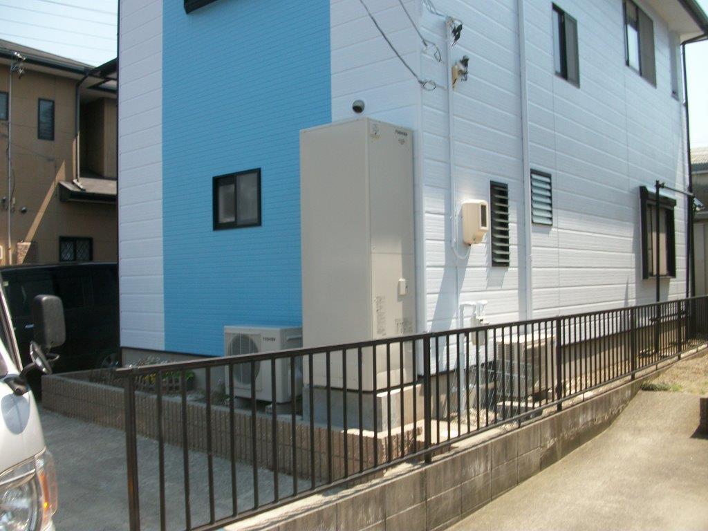 京都府東芝エコキュートHWH-B374H施工後の写真