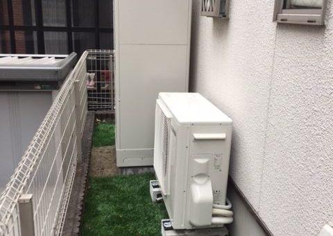 滋賀県東芝エコキュートHWH-B375H施工後その他の写真1
