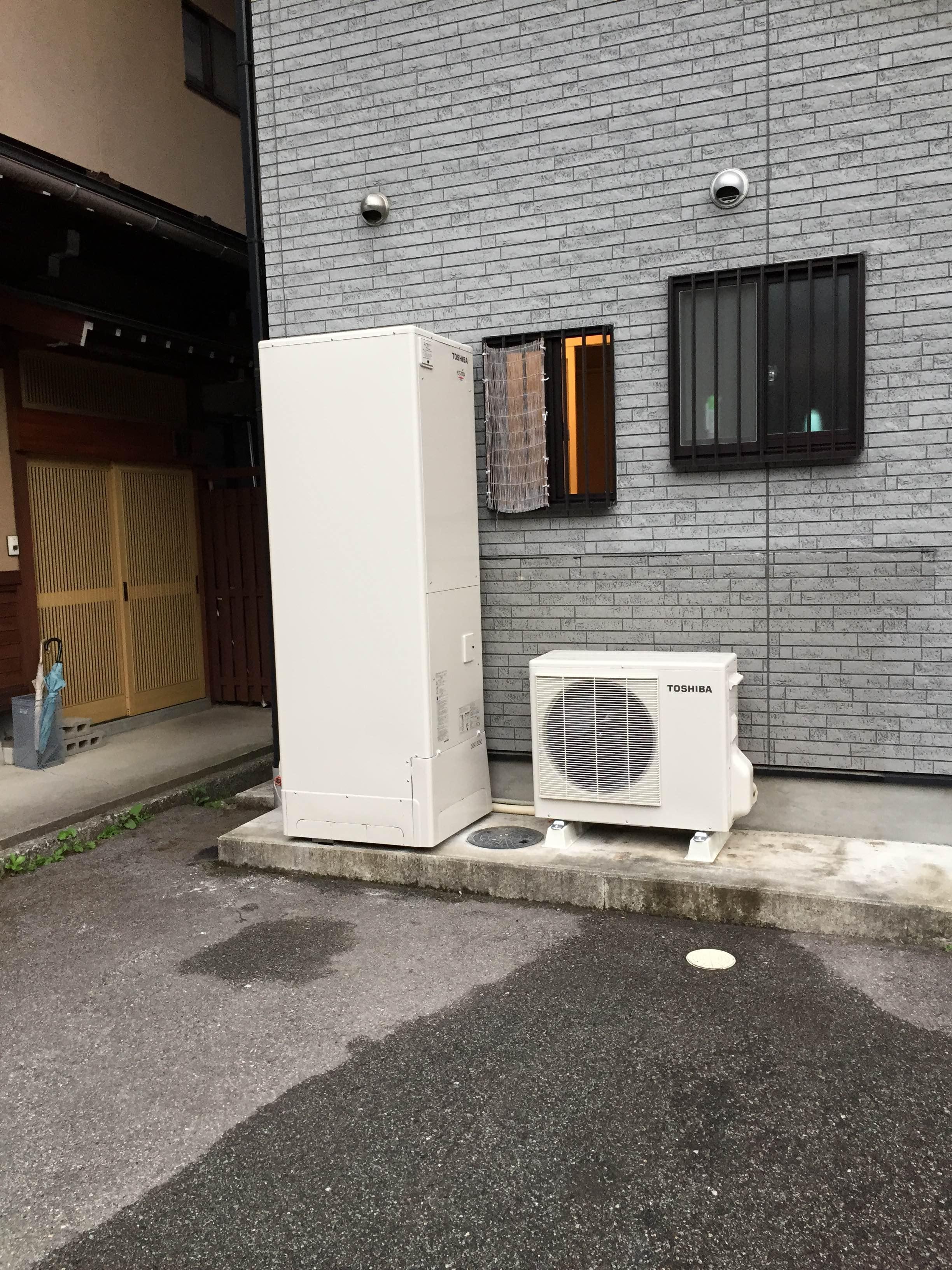 兵庫県東芝エコキュートHWH-FBH463SCNG 施工後の写真