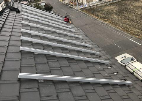 大阪府長州太陽光パネル 10枚CS-250B41施工後その他の写真1
