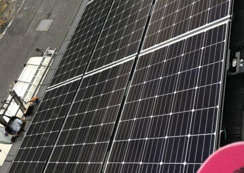大阪府長州太陽光パネル 10枚CS-250B41施工後その他の写真2