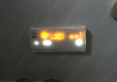 大阪府東芝エコキュートHWH-B374APanasonic IHクッキングヒーターKZ-V373S施工後その他の写真4