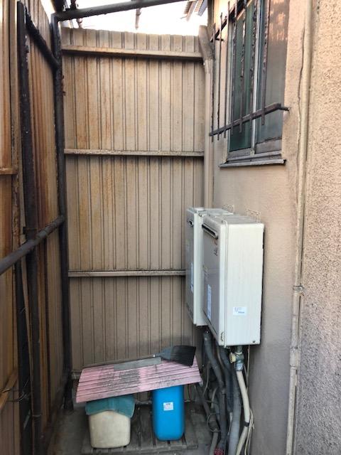 和歌山県東芝エコキュートHWH-F375H施工前の写真