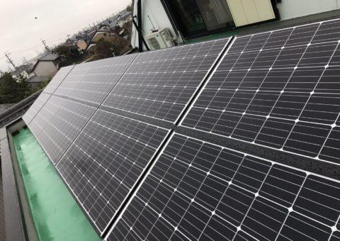 兵庫県三菱太陽光パネル 20枚PV-MA2250M施工後その他の写真1