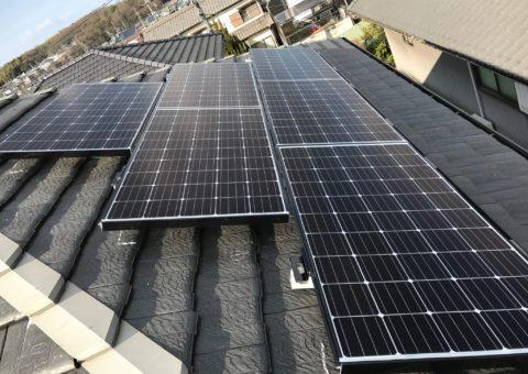 奈良県三菱太陽光パネル 19枚PV-MA2250M施工後その他の写真1