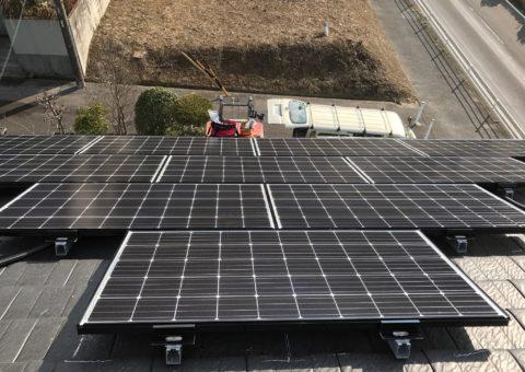 愛知県三菱太陽光パネル 19枚PV-MA2250M施工後その他の写真1