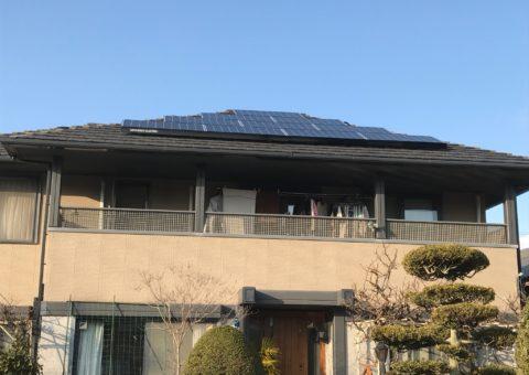 愛知県三菱太陽光パネル 19枚PV-MA2250M施工後その他の写真3