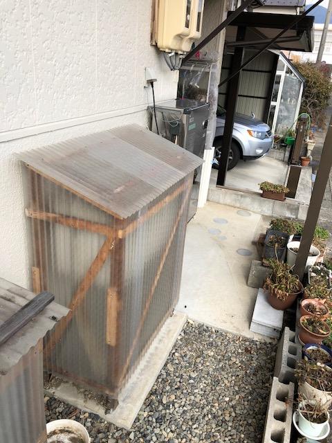 京都府東芝エコキュートHWH-B465HA施工前の写真
