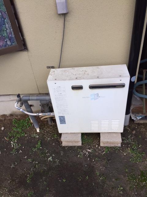 愛知県東芝エコキュートHWH-B375HA施工前の写真