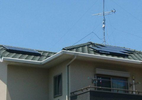 三重県三菱太陽光パネル 10枚PV-MA2250M施工後その他の写真3