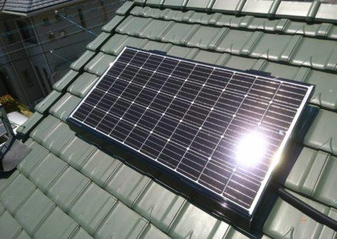 三重県三菱太陽光パネル 10枚PV-MA2250M施工後その他の写真2