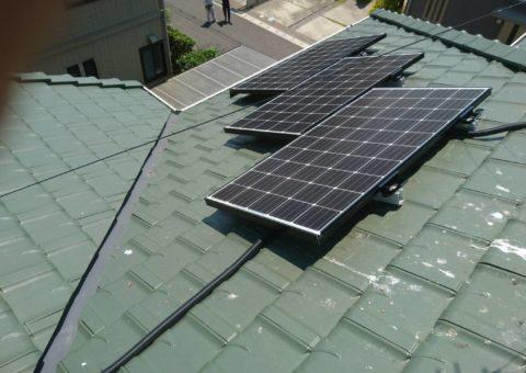 三重県三菱太陽光パネル 10枚PV-MA2250M施工後その他の写真1