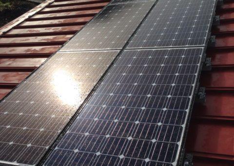 三重県三菱 太陽光発電PV-MA2180KS施工後その他の写真2