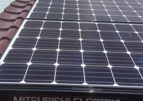 愛知県三菱太陽光パネル 12枚PV-MA2180K施工後その他の写真2