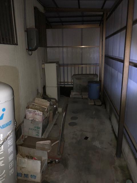 愛知県東芝エコキュートHWH-F375H施工前の写真