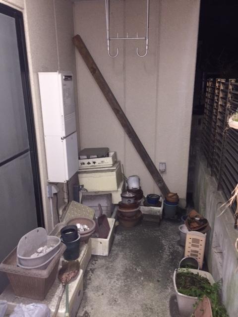 大阪府東芝エコキュートHWH-B375H施工前の写真