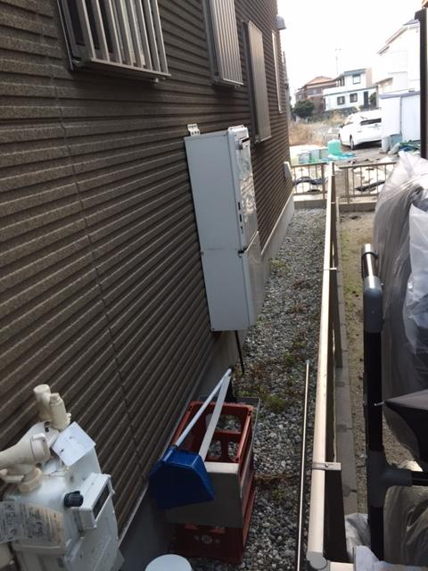 滋賀県東芝エコキュート(薄型)HWH-B375HW施工前の写真