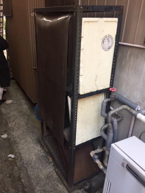 滋賀県三菱エコキュートSRT-S372UZ施工前の写真