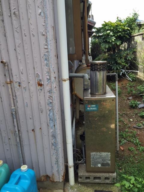 和歌山県東芝エコキュートHWH-B375HA日立IHクッキングヒーターHT-K200XTWF施工前の写真