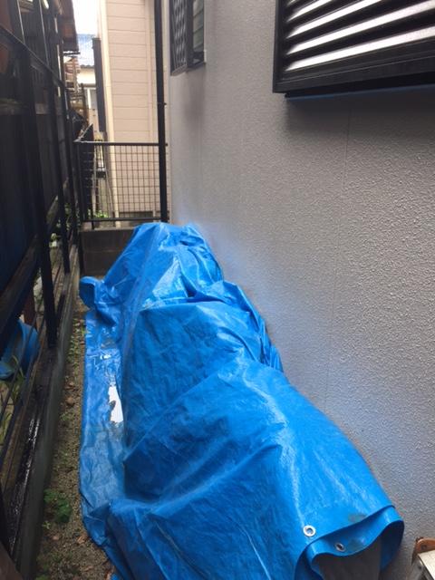 滋賀県東芝エコキュートHWH-B375HW施工前の写真