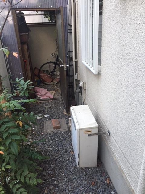 滋賀県東芝エコキュートHWH-B565HA施工前の写真
