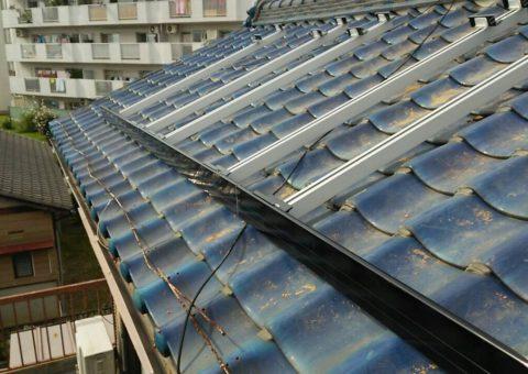 和歌山県三菱太陽光パネル 6枚PV-MA2180K 施工後その他の写真2