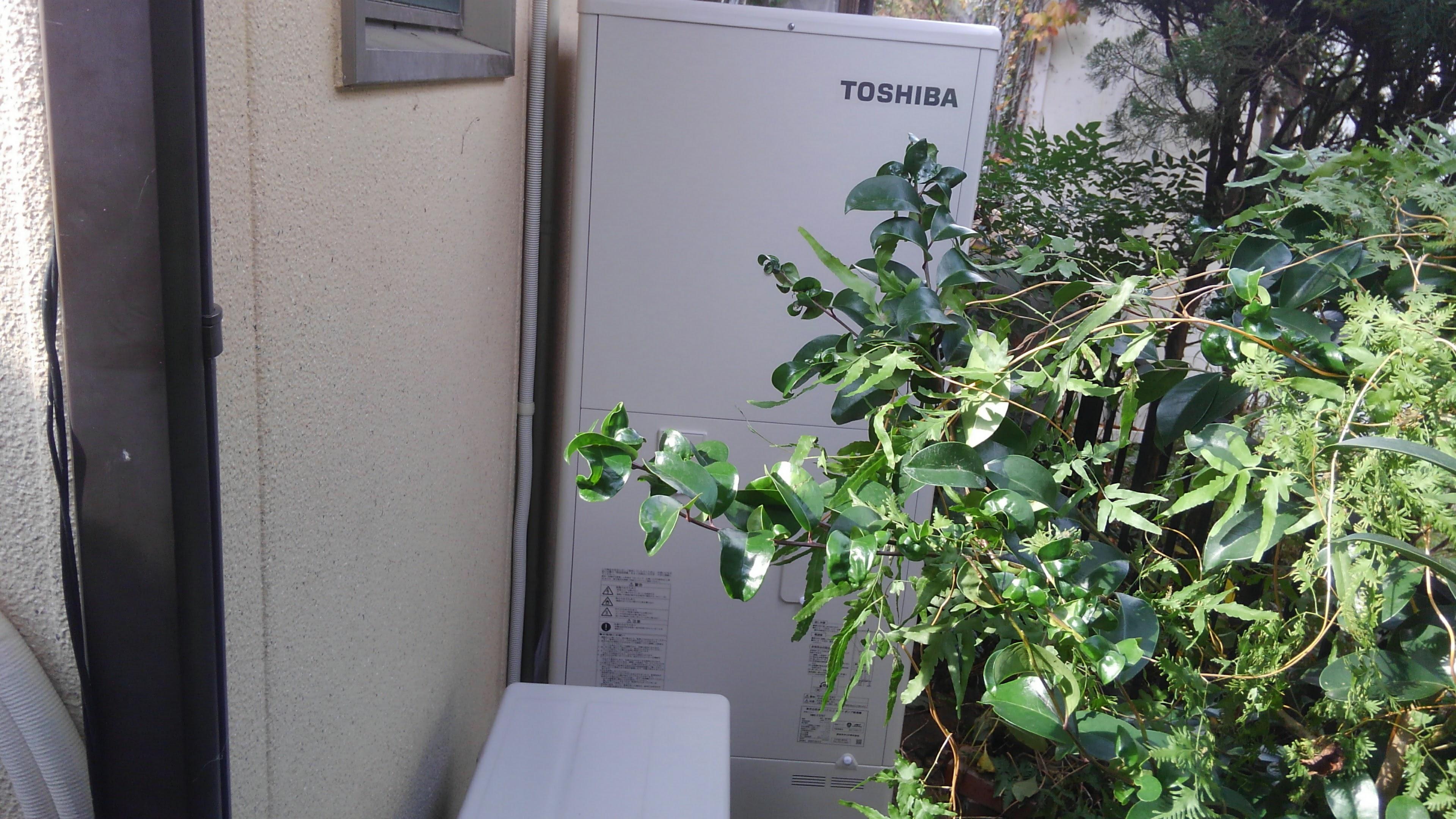 京都府東芝HWH-F375施工後の写真