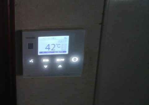 滋賀県東芝エコキュートHWH-B375H施工後その他の写真3