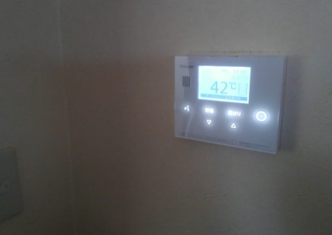 大阪府東芝エコキュートHWH-B465H施工後その他の写真2