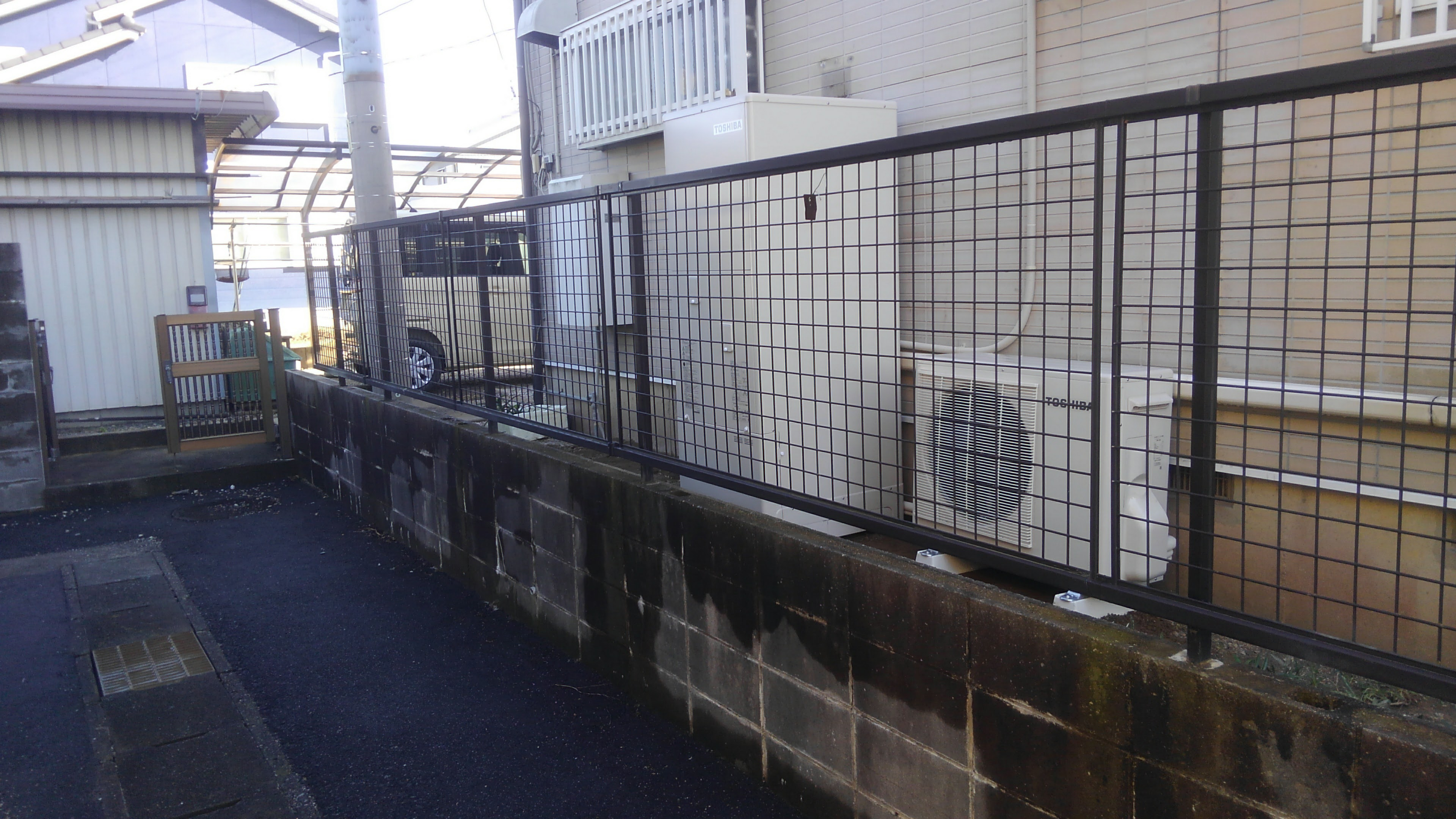 和歌山県東芝エコキュートHWH-B375H三菱IHクッキングヒーターCS-G32M施工後の写真