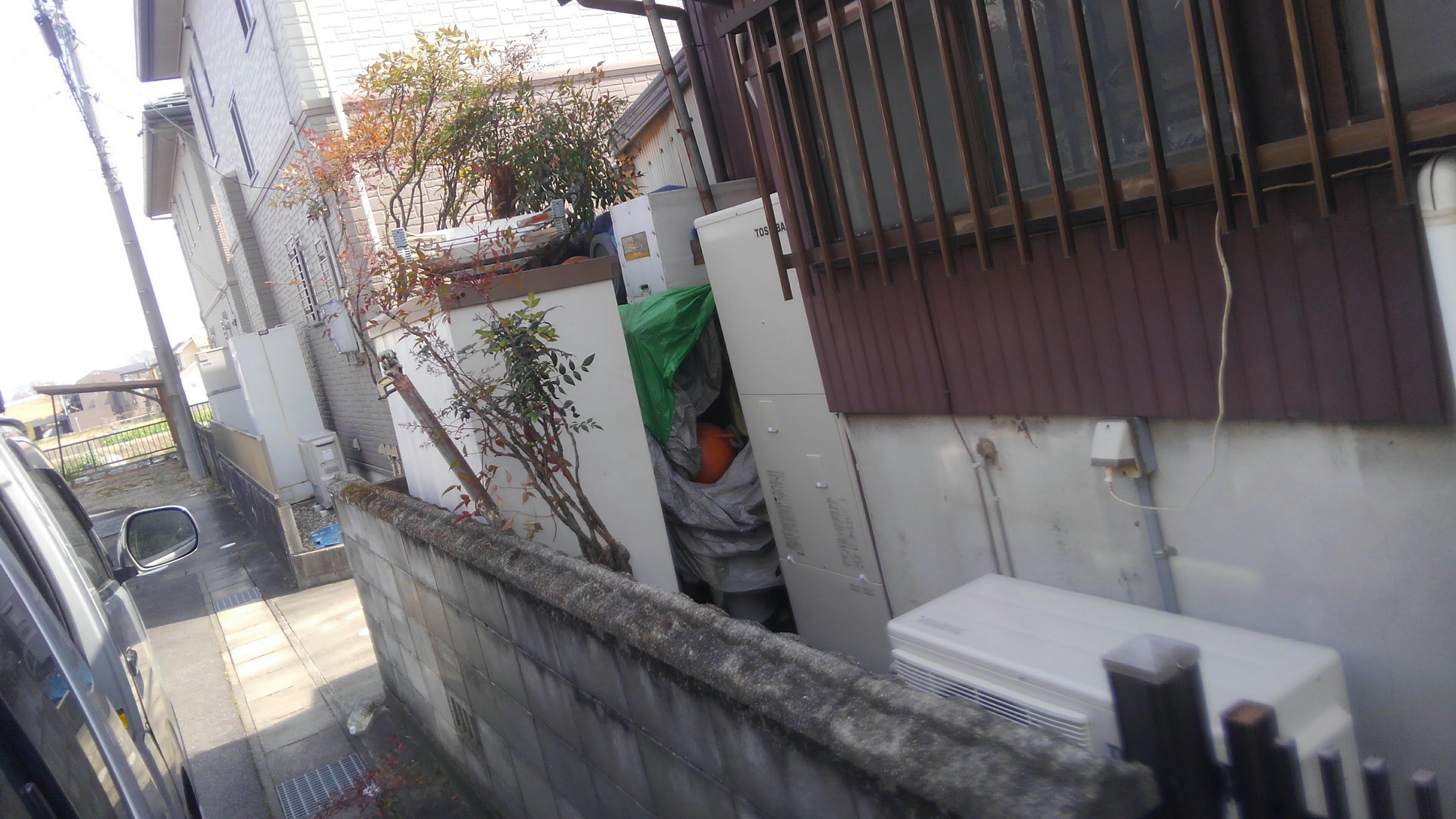 三重県東芝エコキュートHWH-B375H施工後の写真
