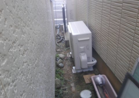 大阪府東芝エコキュートHWH-B375H三菱IHクッキングヒーターCS-G32M施工後その他の写真2