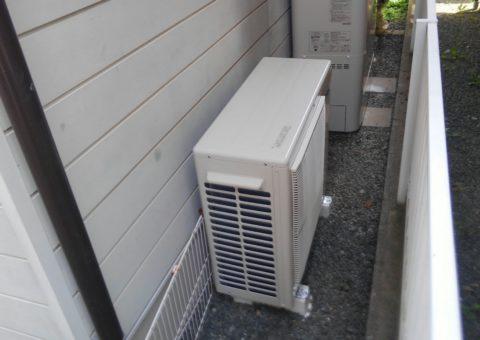京都府東芝エコキュート(薄型)HWH-B375HW施工後その他の写真1