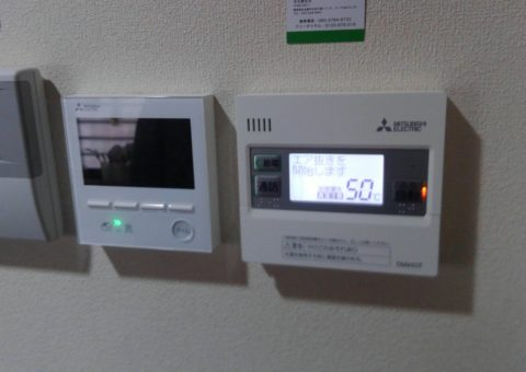 大阪府三菱エコキュートSRT-S372Z施工後その他の写真2