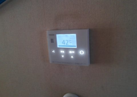 滋賀県東芝エコキュートHWH-B375H施工後その他の写真2