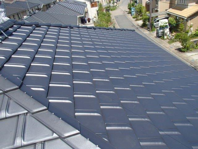 大阪府長州太陽光パネル  16枚CS-246B41施工前の写真
