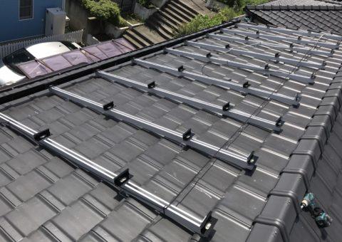 滋賀県三菱太陽光パネル 15枚PV-MA2250M施工後その他の写真2