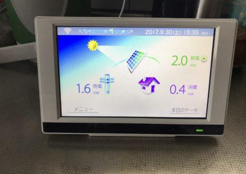 奈良県長州太陽光パネル 20枚CS-274B61施工後その他の写真4