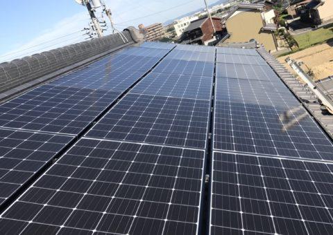 奈良県長州太陽光パネル 20枚CS-274B61施工後その他の写真1