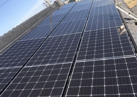 奈良県長州太陽光パネル 20枚CS-274B61施工後その他の写真2